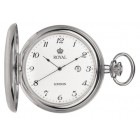 Royal London - Silver Plated Pocket Watch
